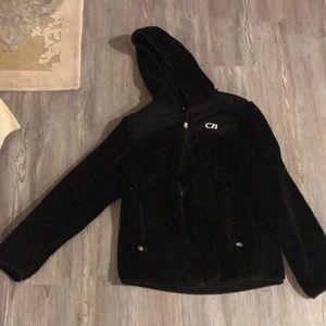 CB Black fluffy jacket